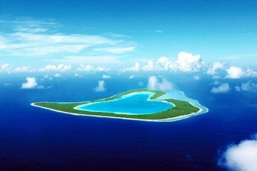 Vẻ đẹp lãng mạn của những hòn đảo hình trái tim - Ảnh 10