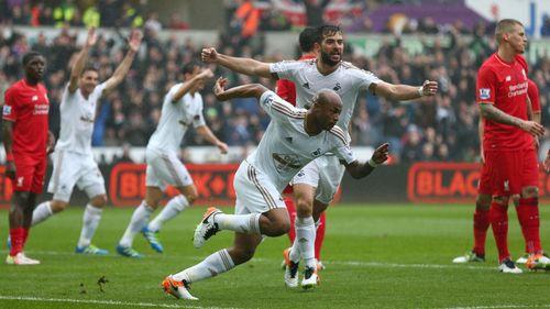 Swansea 3-1 Liverpool: Màn chạy đà tệ hại - Ảnh 1