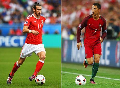 Thống kê Bale vs Ronaldo trước bán kết Bồ Đào Nha vs Wales - Ảnh 1