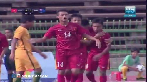 U16 Việt Nam xuất sắc quật ngã U16 Úc 3-0 - Ảnh 1