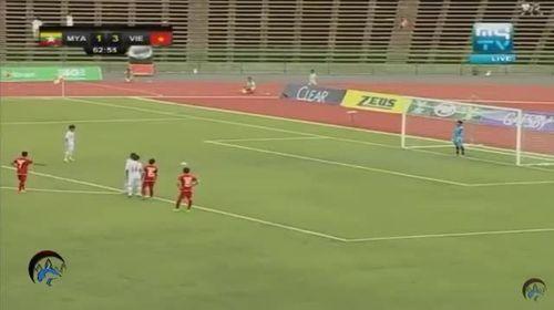 U16 Việt Nam lội ngược dòng đánh bại U16 Myanmar 5-1 - Ảnh 1