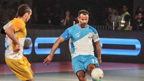 Ryan Giggs tiếp tục tỏa sáng ở giải Futsal Ấn Độ - Ảnh 1