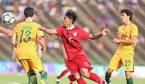 U16 Thái Lan đau đớn mất vé chung kết vào tay U16 Australia - Ảnh 1