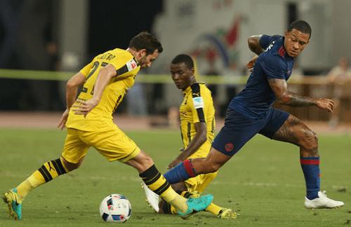 MU thua thảm Dortmund trên đất Trung Quốc - Ảnh 1