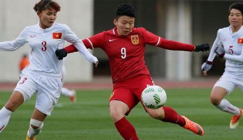 Nữ Việt Nam đại thắng 14-0 trước nữ Singapore ở AFF 2016 - Ảnh 1