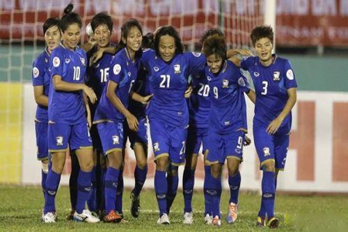 Nữ Thái Lan thắng nữ Singapore 8-0 - Ảnh 1