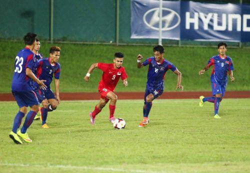 Messi Campuchia lập siêu phẩm sút phạt giúp Campuchia thắng sốc - Ảnh 1