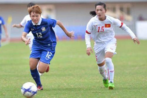 Nữ Việt Nam đánh bại nữ Thái Lan 2-0, giành ngôi nhất bảng A - Ảnh 1