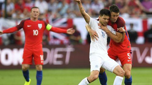 Slovakia 0-1 Anh: Chiến thắng ở giây cuối cùng - Ảnh 1