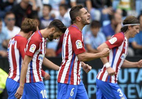 Celta Vigo 0-4 Atletico Madrid: Griezmann rực sáng, Atletico thắng trận đầu - Ảnh 1
