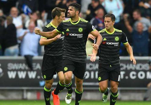 Swansea 2-2 Chelsea: Costa rất tốt nhưng đồng đội rất tiếc - Ảnh 1