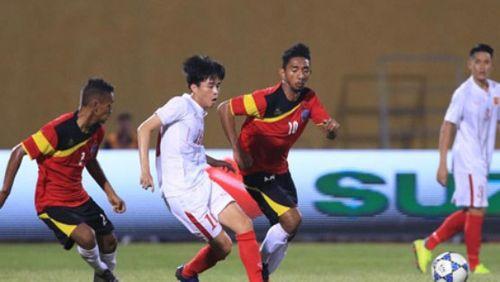U19 Việt Nam đại thắng U19 Đông Timor và giành lấy ngôi đầu - Ảnh 1