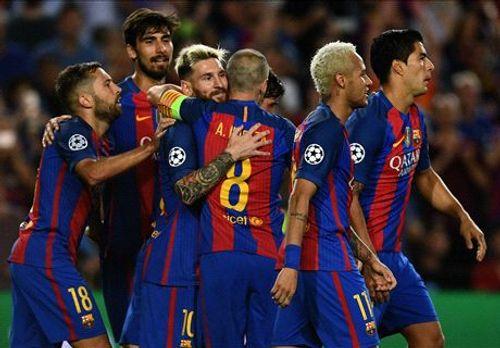 Barca hủy diệt Celtic 7-0, thách thức cả châu Âu - Ảnh 1