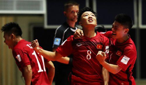 Đội tuyển Futsal Việt Nam lập kỳ tích lần đầu vào vòng 1/8 - Ảnh 1
