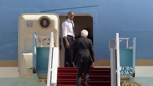 Tổng thống Obama la hét, giục cựu Tổng thống Bill Clinton lên máy bay - Ảnh 1