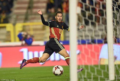 "Bỉ 4-0 Bosnia Herzegovina: Hazard, Lukaku giúp Quỷ đỏ Phá ""dớp"" - Ảnh 1"
