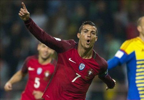 Ronaldo lập poker, Bồ Đào Nha đại thắng Andorra kiểu tennis - Ảnh 1