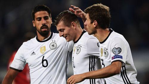 Mueller lập cú đúp, Đức đại thắng 3-0 trước Czech - Ảnh 1