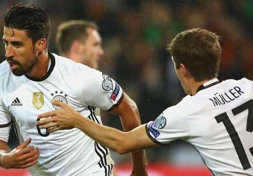 Draxler, Khedira lập công, Đức thắng trận thứ 3 liên tiếp - Ảnh 1