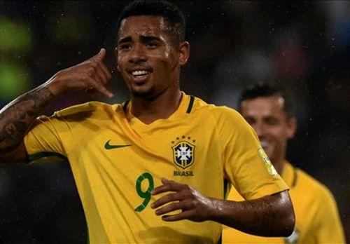 Venezuela 0-2 Brazil: Không Neymar, sao trẻ Man City đưa Brazil lên đỉnh bảng - Ảnh 1