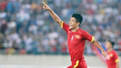 Hà Đức Chinh đánh đầu tung lưới U19 Triều Tiên, mở tỷ số cho U19 Việt Nam - Ảnh 1