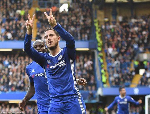 """Chelsea 3-0 Leicester: Nhà vua """"băng hà"""" - Ảnh 1"""