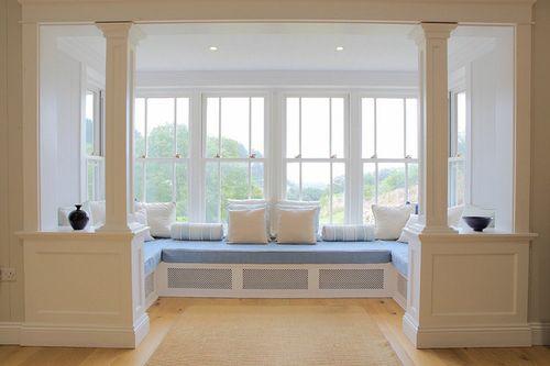 Ý tưởng thiết kế ghế bên cửa sổ: Tối giản nhưng tiện ích lớn - Ảnh 4