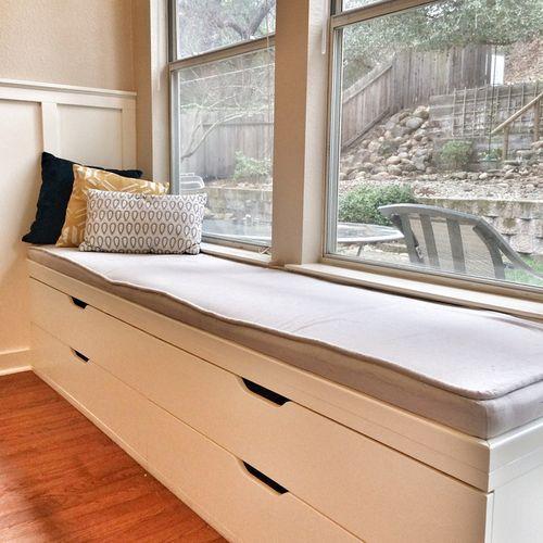 Ý tưởng thiết kế ghế bên cửa sổ: Tối giản nhưng tiện ích lớn - Ảnh 8