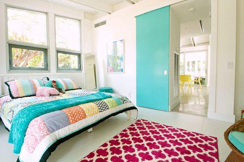 Không gian đẹp đẽ của những phòng ngủ đầy sức sống - Ảnh 6