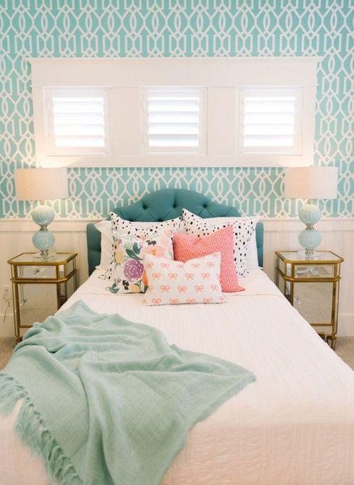 Không gian đẹp đẽ của những phòng ngủ đầy sức sống - Ảnh 8