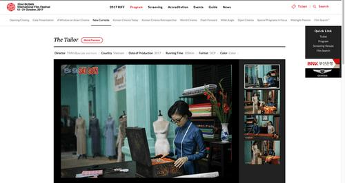 """""""Cô Ba Sài Gòn"""" của Ngô Thanh Vân tham dự Liên hoan phim Quốc tế Busan 2017 - Ảnh 1"""