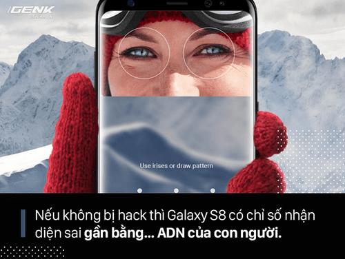FaceID trên iPhone X, quét mống mắt và Windows Hello khác nhau ra sao? Ai hơn ai kém? - Ảnh 4