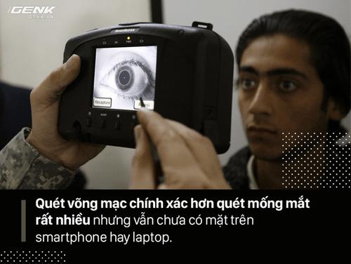FaceID trên iPhone X, quét mống mắt và Windows Hello khác nhau ra sao? Ai hơn ai kém? - Ảnh 6