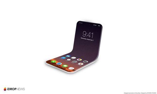 Rò rỉ mẫu iPhone có thể gập lại được của Apple - Ảnh 1