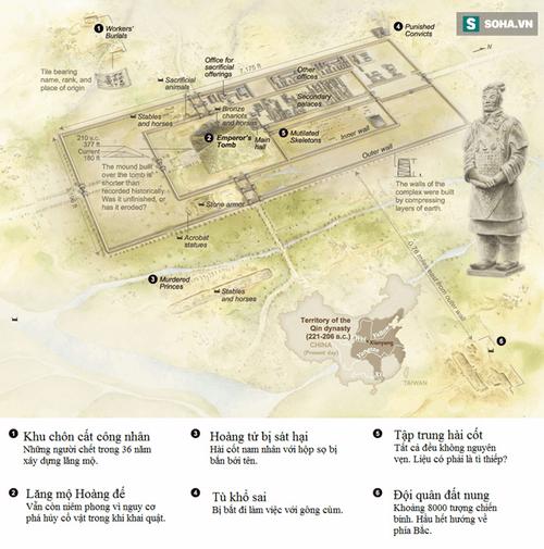 """Bí mật lăng mộ Tần Thủy Hoàng: Công nghệ """"bậc thầy"""" thời cổ đại - Ảnh 3"""