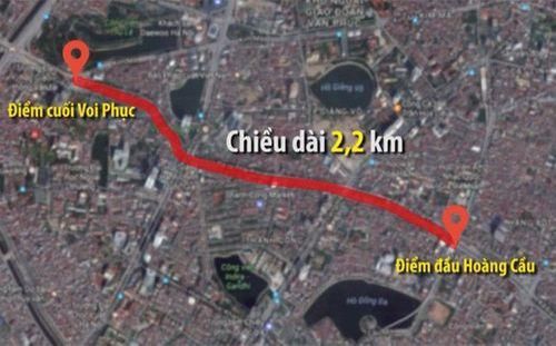 """Hà Nội: Giải tỏa 2.300 hộ dân làm đường 3,4 tỷ đồng/m, """"đắt nhất hành tinh"""" - Ảnh 1"""