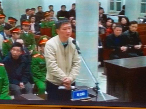 Tạm dừng phiên toà xét xử Trịnh Xuân Thanh để làm rõ khoản tiền 19 tỷ đồng - Ảnh 1