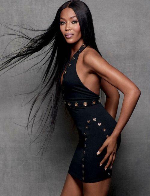 Siêu mẫu Naomi Campbell và bí quyết giữ dáng như gái dậy thì - Ảnh 1