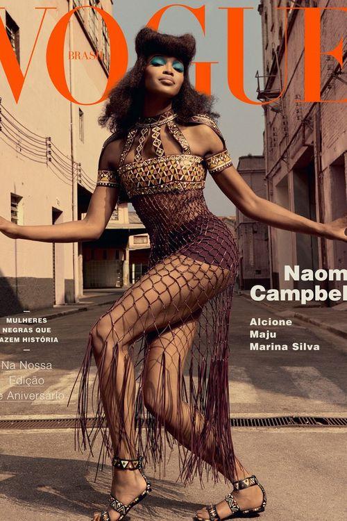 Siêu mẫu Naomi Campbell và bí quyết giữ dáng như gái dậy thì - Ảnh 5
