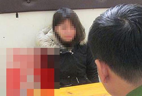 Hà  Nội: Bắt nữ học viên y tế chuyên đánh tráo điện thoại xịn - Ảnh 1