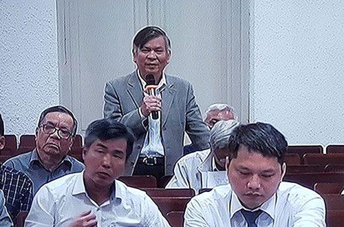 Cựu lãnh đạo Vinaconex xin tòa xem xét cho các bị cáo - Ảnh 1