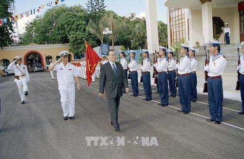Những hình ảnh hoạt động của Nguyên Thủ tướng Chính phủ Phan Văn Khải - Ảnh 11