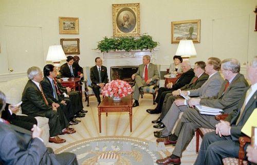Những hình ảnh hoạt động của Nguyên Thủ tướng Chính phủ Phan Văn Khải - Ảnh 6