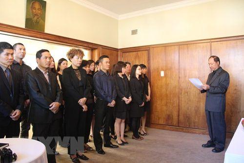 Lễ viếng nguyên Thủ tướng Phan Văn Khải tại một số nước - Ảnh 1