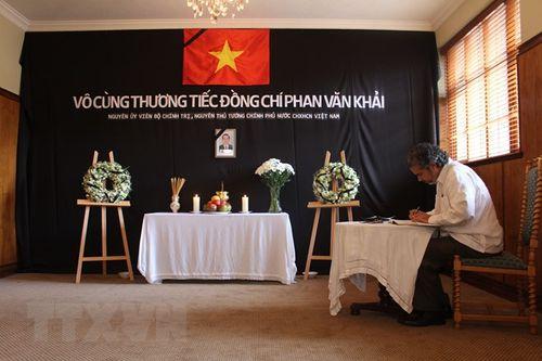 Lễ viếng nguyên Thủ tướng Phan Văn Khải tại một số nước - Ảnh 2