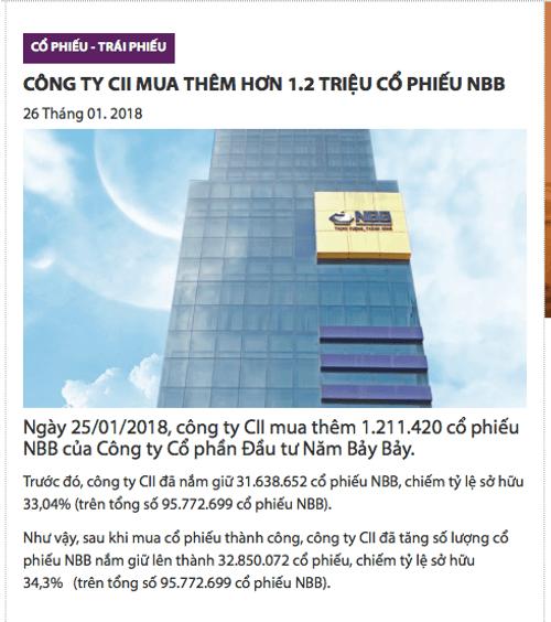 Chủ đầu tư Carina Plaza: Ai đang nắm giữ cổ phần 577? - Ảnh 1