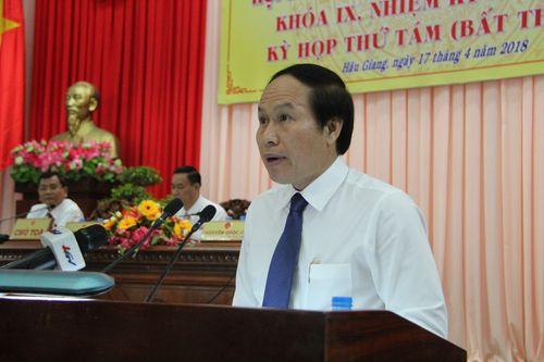 Ông Lê Tiến Châu giữ chức Chủ tịch UBND tỉnh Hậu Giang - Ảnh 1