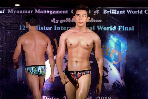 Đại diện Việt Nam đang dẫn đầu bình chọn tại Mr International 2018 - Ảnh 1