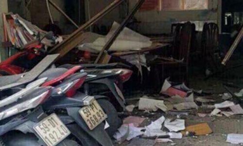 Họp báo thông tin vụ nổ tại trụ sở công an phường khiến 1 nữ cán bộ bị thương - Ảnh 3