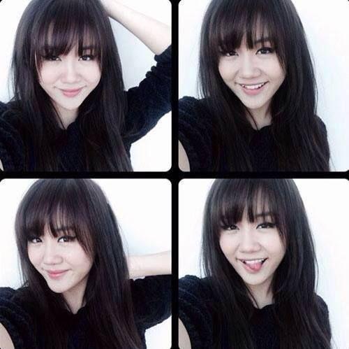 Tóc mái thưa -  xu hướng mê hoặc các quý cô Châu Á  - Ảnh 15